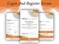 Restaurent Login Register B