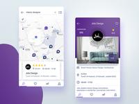 Google places like app