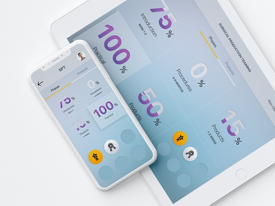 Training app app design android ios percentage blue doctor health ipad photoshop design mobile purple app