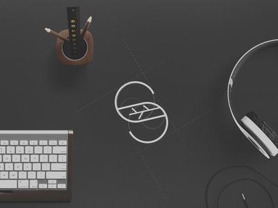 S mark logodesigns branding illustrator photoshop typography letter black logodesign logo mark production company production furniture
