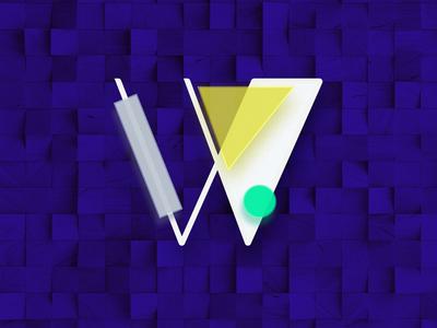 Wood U branding jewellery branding design circle brand illustrator photoshop purple logo mark branding