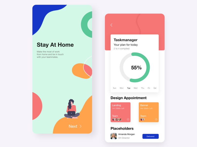 Stay at home tbilisi color motion illustrator illustrations mobile app design mobile design mobile app mobile ui mobile typography design branding ux web design ui ui design adobe xd web concept ux design