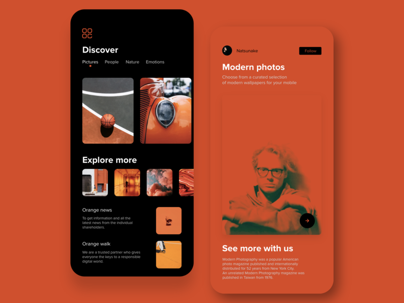 Orange UI