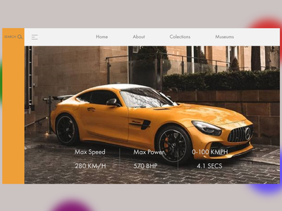 Mercedes-Benz Amg Web design pantone colors mercedes branding minimal icons logo ux ux design ui ux ui ui design web concept web design adobe photoshop adobe xd adobe illustrator