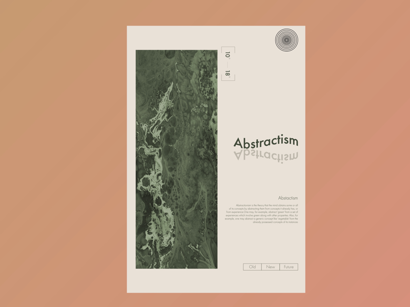 Abstract Poster typography artist typography art minimal art minimalism minimal graphic art graphic design design abstract artist abstract art poster artist poster art abstract poster poster adobe xd adobe photoshop
