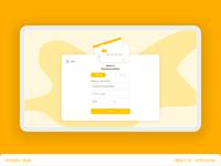 DailyUI | Desktop | Credit card Checkout