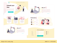 DailyUI | Desktop | Landing Page
