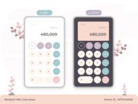 DailyUI | Mobile | Calculator