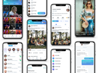 Social Media insta UI