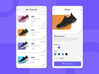 Shoes App (Listing & Detail) - Ecommerce