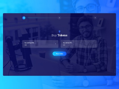 iTrue Blockchain ICO – Buy Tokens Page webdesig startup ux ui dashboard saas cryptocurrency app crypto landing ico blockchain
