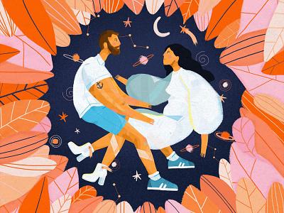 Find Love art dessin maison bernie photoshop illustration graphisme illustrator