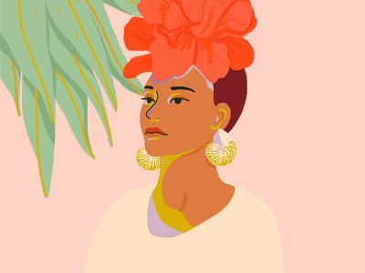 Camelia art pastel illustrator graphic texture dessin maison bernie photoshop illustration graphisme