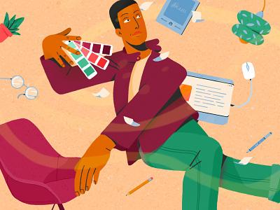 Illustration, FREELANCE digitalart graphism illustrator graphic dessin maison bernie photoshop illustration graphisme freelance