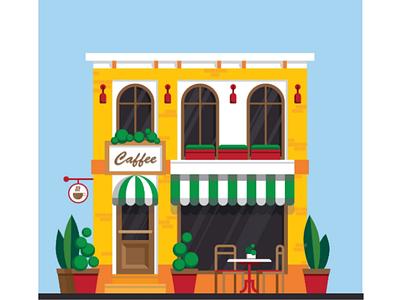 Iranian caffee illustrationuidesignuxdesign