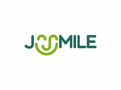 JuSmile drink juice smile branding brand symbol icon design logo