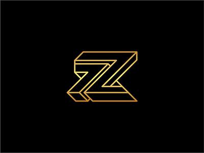 Z   7 z7 7z letter z line branding vector brand symbol icon design logo