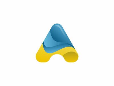 A lettera a branding vector brand symbol icon design logo