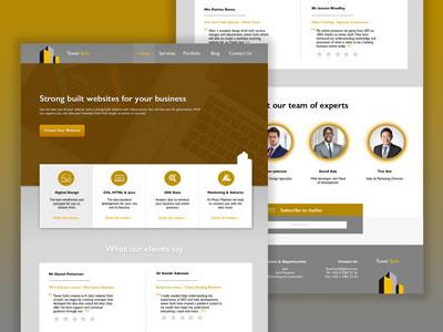 Web Page Layout concept layout digital design design illustrator sketch digital webdesign
