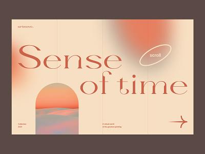 Website Design minimal trendyweb gradient homepage clean typography minimalist web website design art ui