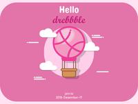 Hello Dribbble1