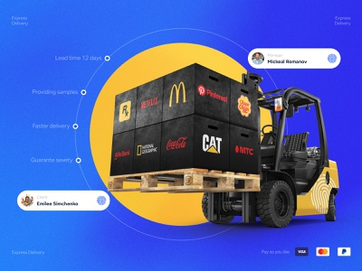 Corporate gifts — Delivery graphic design ux ui typography product design landing e-commerce design branding