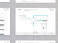 UX Wireframes: Planner