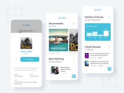 Grandflm Mobile App