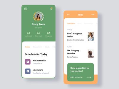 Student Schedule Mobile App