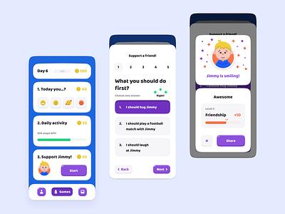 Tutio App — Design Concept principle motion animation mobile ui app
