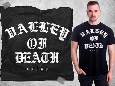 Lionheart - Valley of Death merchandise lionheart apparel logo apparel design merch apparel logo brand clothing graphicdesign illustration design