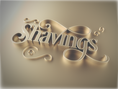 Shavings shavings