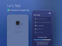 Lyric App