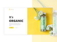 Organico - Web Concept