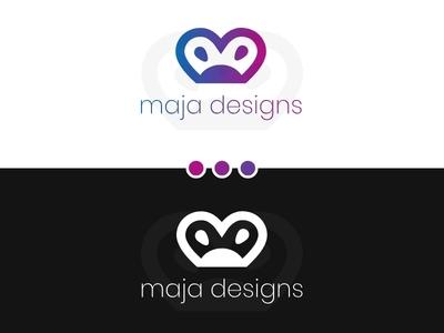 Portfolio Logo simple logo logo 2d portfolio logo portfolio website logo graphic design logo design challenge logo design branding logo design gradient logo