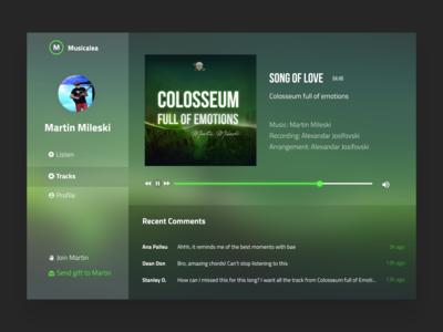 Musicalea - Radio Station Concept