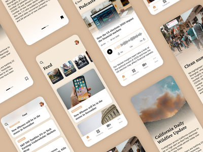 News app design concept mobile concept news app newsfeed newsapp news ios design app web 2020 trend 2020 uxui ux ui
