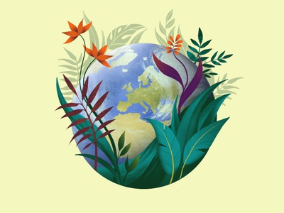 World Environment Day climatechange savenature earth saveearth fornature timefornature nature enviroment worldenvironmentday illustrator illustration