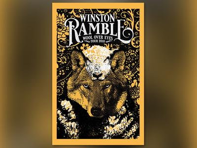 Winston Ramble Tour Poster