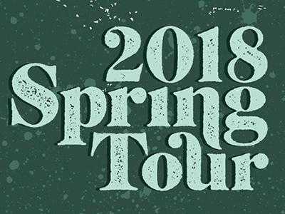 Spring Tour Poster - Detail