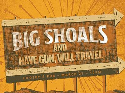 Big Shoals Poster Detail
