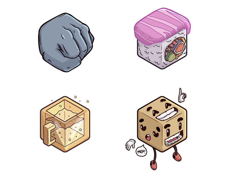 Cube Icons - Misc2 by Illustration Factory on Dribbble