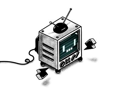 MR Square TV animation 2d animacion logo app game funny character design illustration