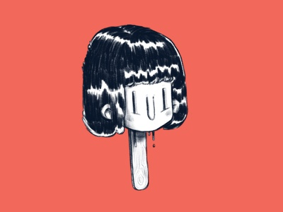 Lolly Pops ui funny design art lolly humour cool eerie character illustration design