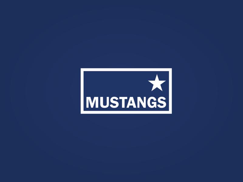 Mustangs Logo american inkscape branding logo mustangs