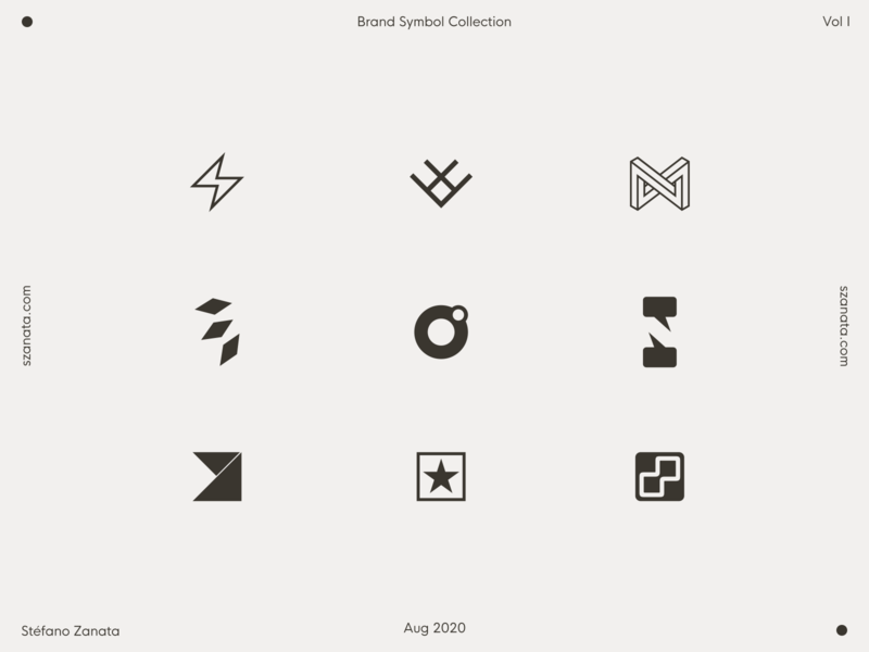 Brand Symbol Collection - Vol I inkscape vector symbol logo branding