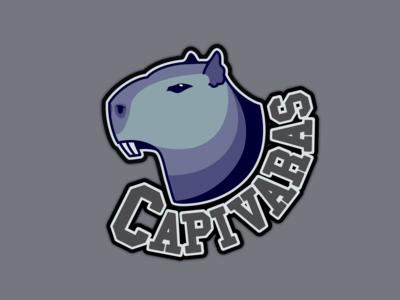 Capivaras Dev Team Logo illustration branding logo