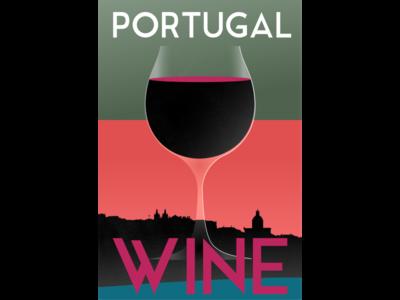 Drinks of the World #1: Portugal illustration design