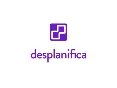 Desplanifica logo logo branding