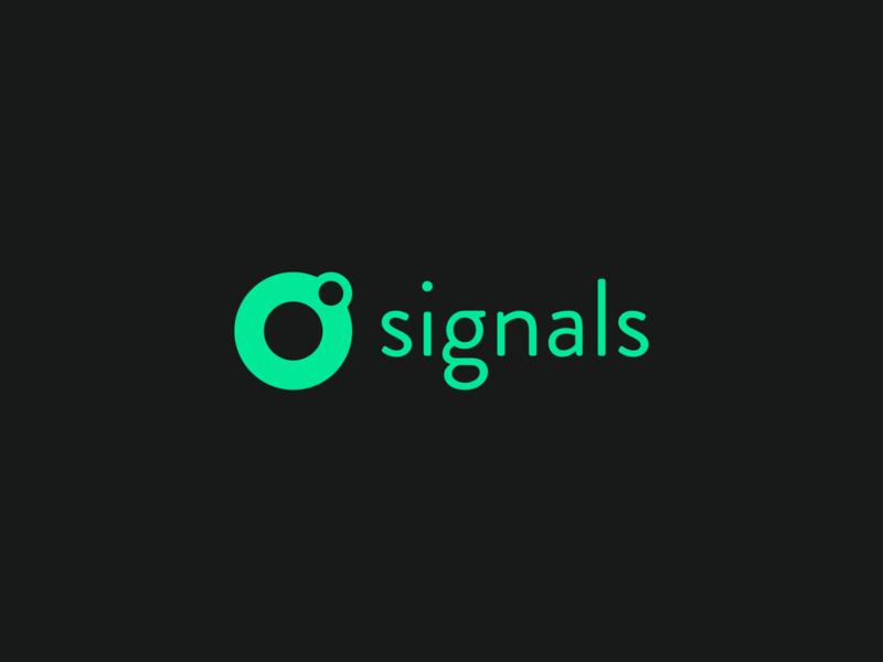 Signals logo reactive hydrogen branding logotype logo